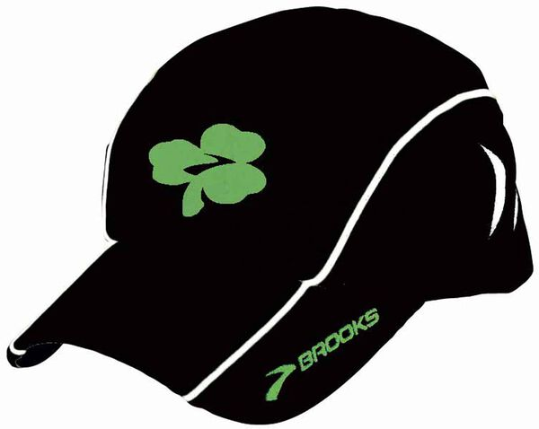 Brooks Shamrock Mesh Cap: wear the luck o' the Irish