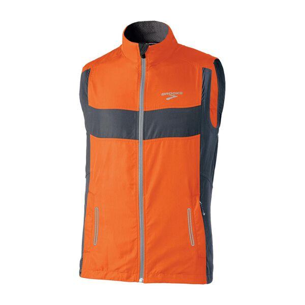 Nighttime running vest for men: Brooks Essential Run Vest II