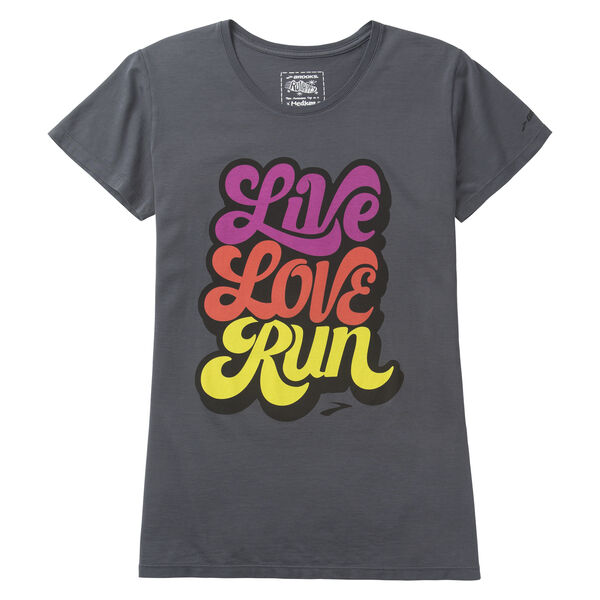 Brooks Running Live Love Run T-Shirt for Women