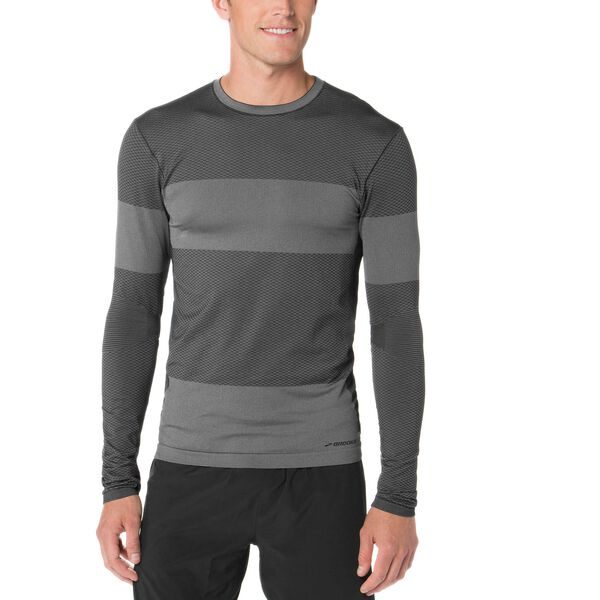 Brooks men's Streaker Long Sleeve running shirt