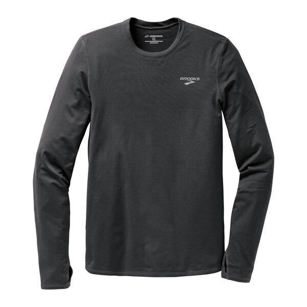 Brooks Men's Heater Hog Long Sleeve Shirt