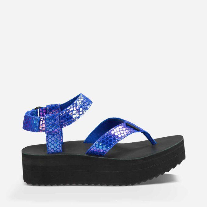 Flatform Sandal Iridescent