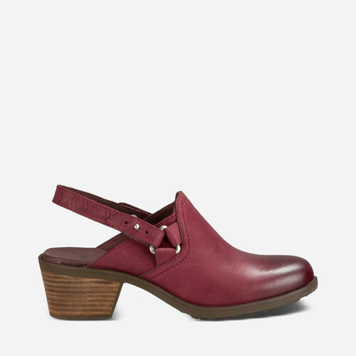 Foxy Clog Leather