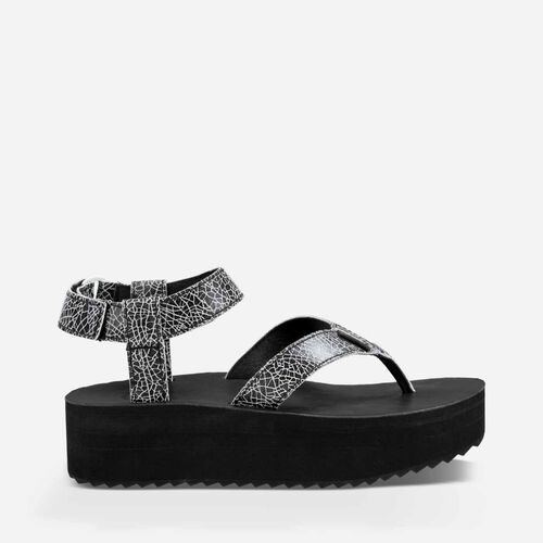 Flatform Sandal Crackle