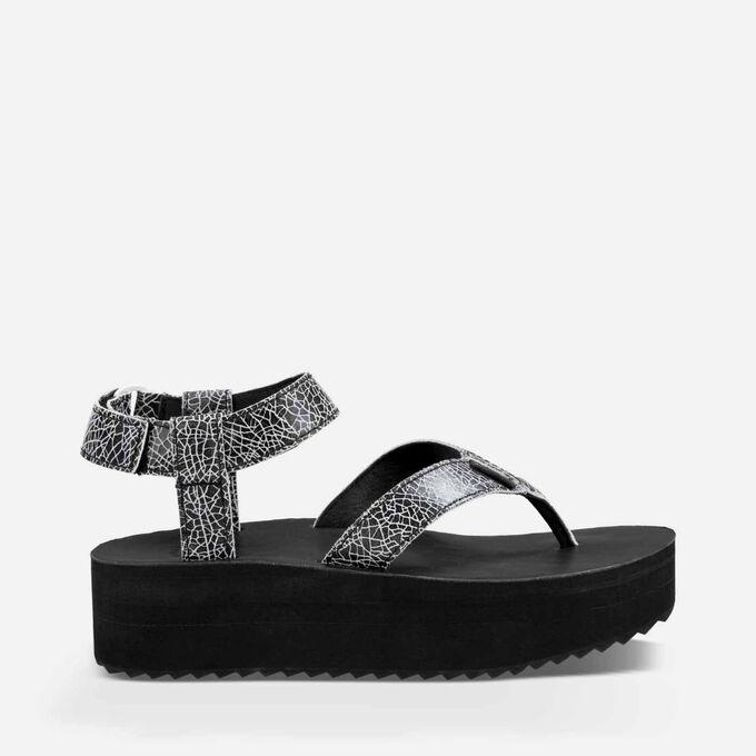 Flatform Sandal Crackle