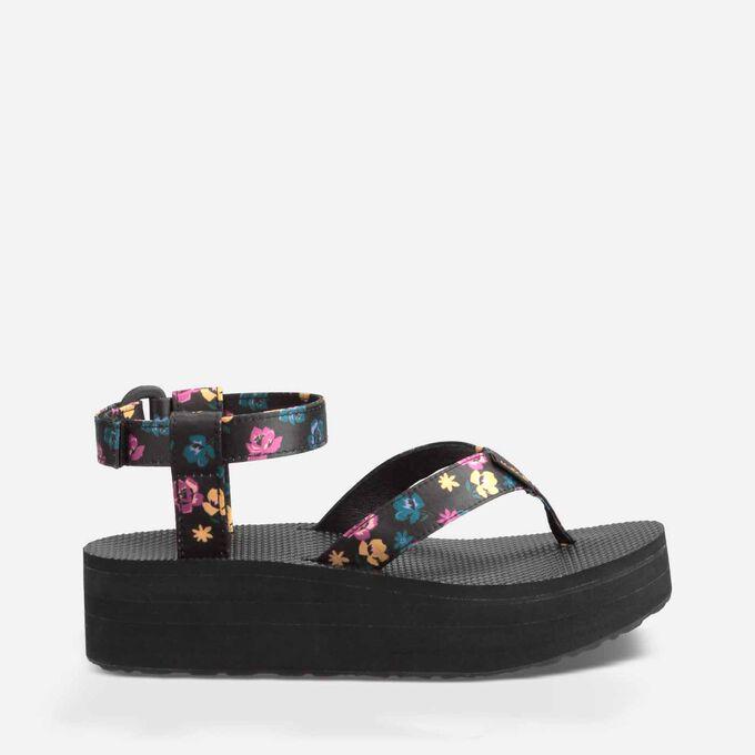 Flatform Sandal Floral