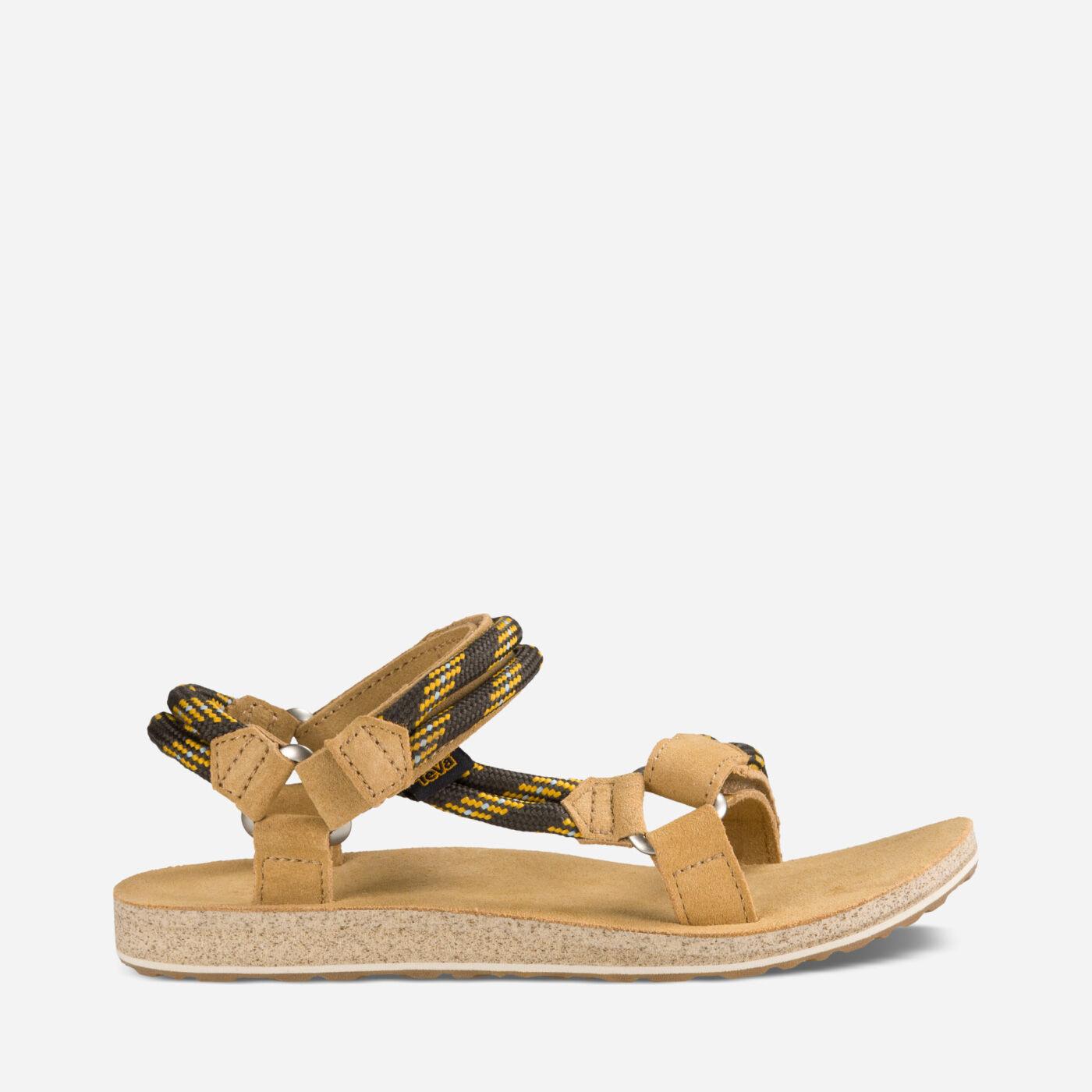 Black sandals gold bar - Original Universal Rope