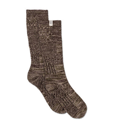 Patchwork Crew Sock