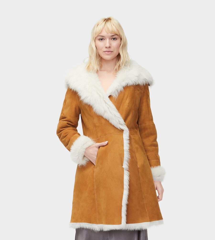 Toscana Shearling Coat - Image 4 of 4