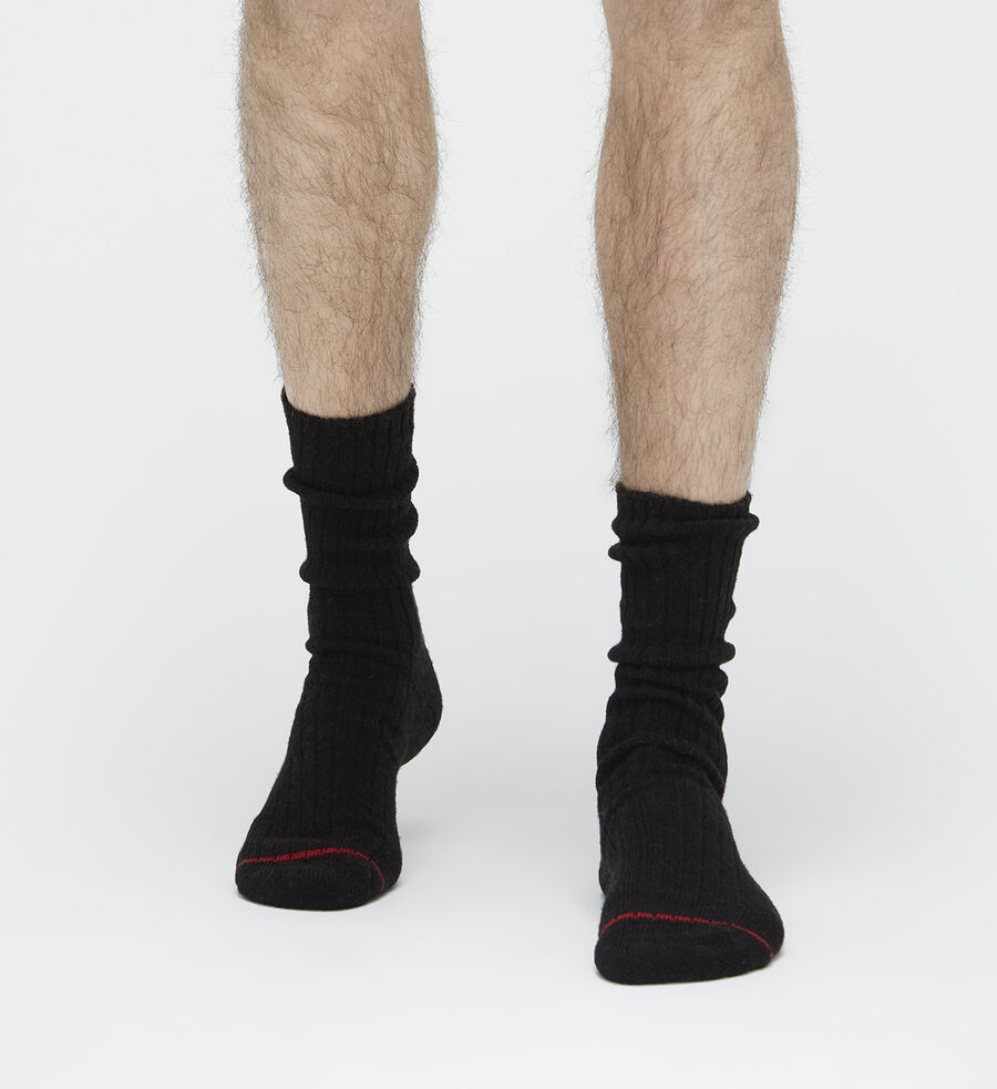 Classic Heather Rib Crew Sock - Image 1 of 3