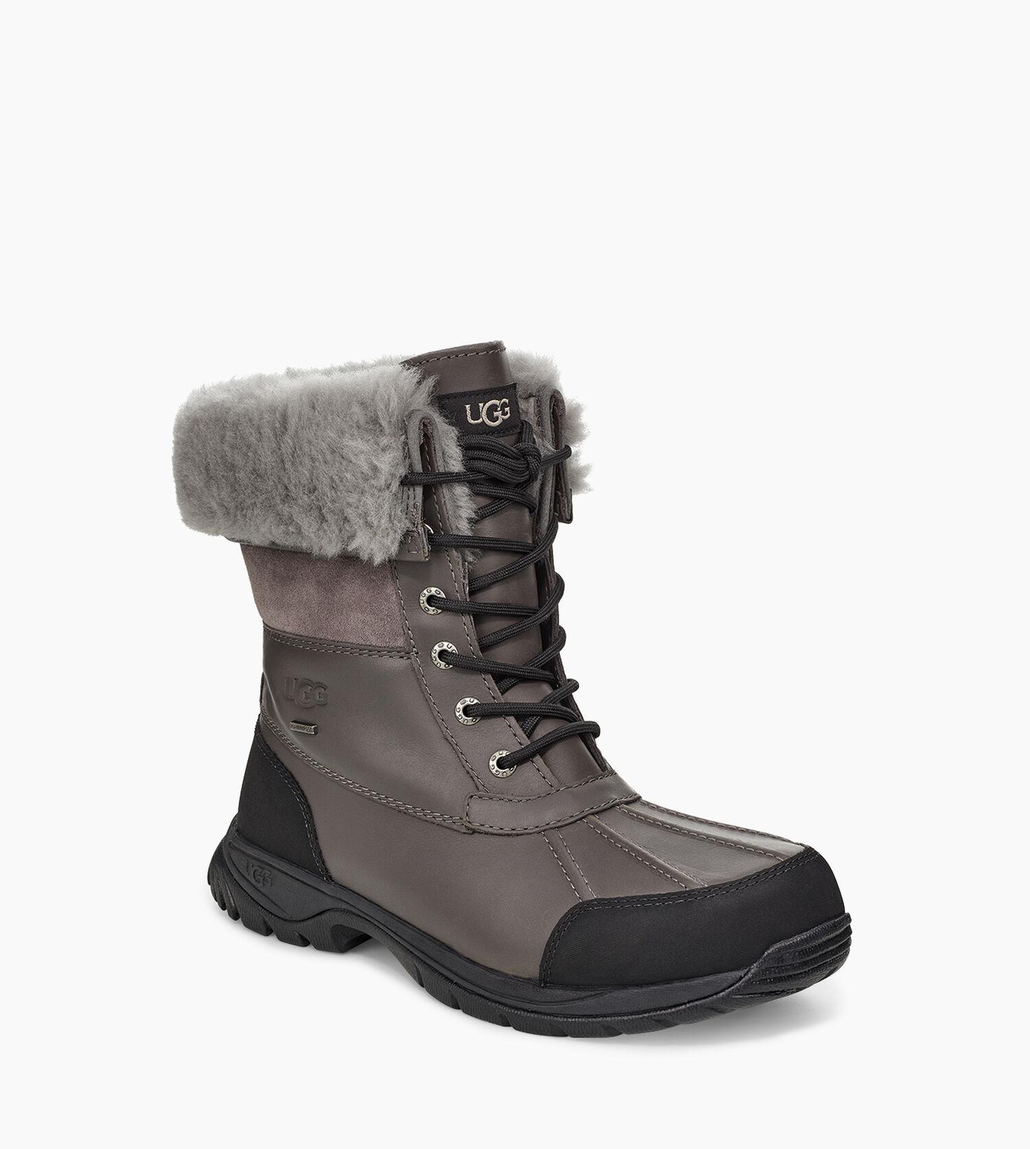 men 39 s butte snow boot suede ugg official. Black Bedroom Furniture Sets. Home Design Ideas
