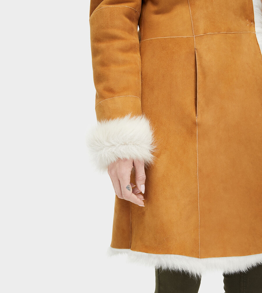 Toscana Shearling Coat - Image 1 of 4