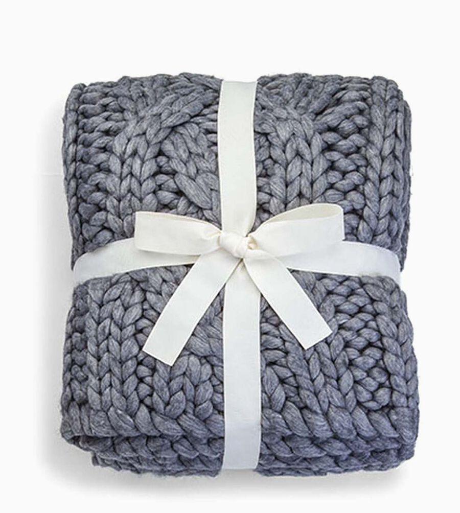 "Oversized Knit Blanket-50x70"" - Image 2 of 3"