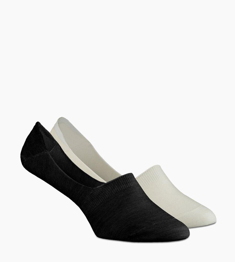 Merino Wool No-Show 2 Sock Pack - Image 2 of 4