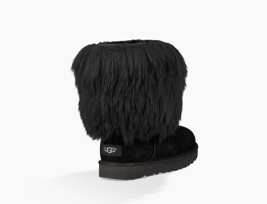 Short Sheepskin Cuff Boot - Image 4 of 6
