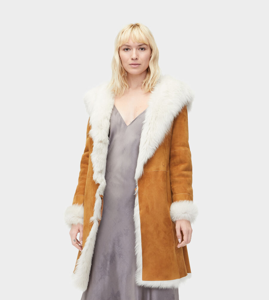 Toscana Shearling Coat - Image 3 of 4