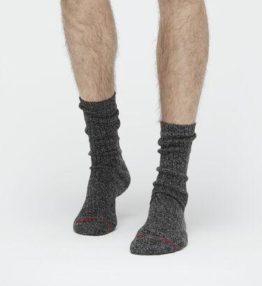 Classic Heather Rib Crew Sock