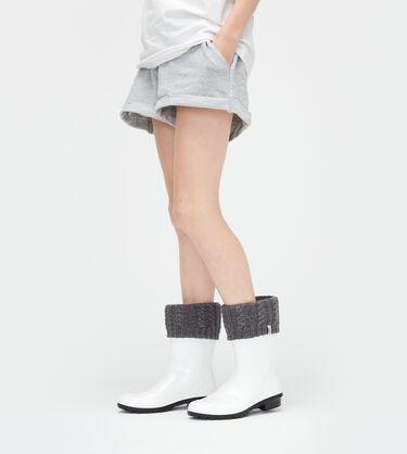 Sparkle Short Rain Boot Sock