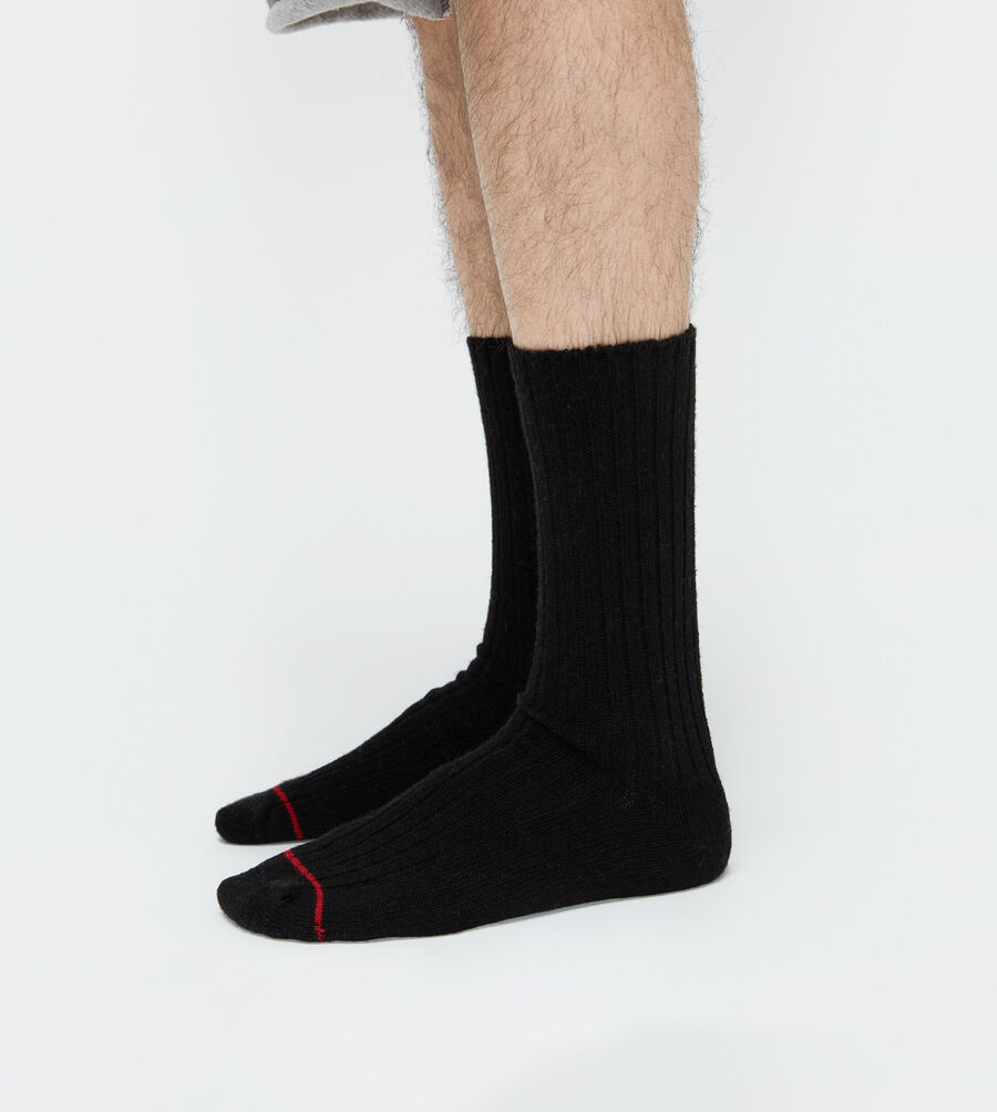 Classic Heather Rib Crew Sock - Image 2 of 3