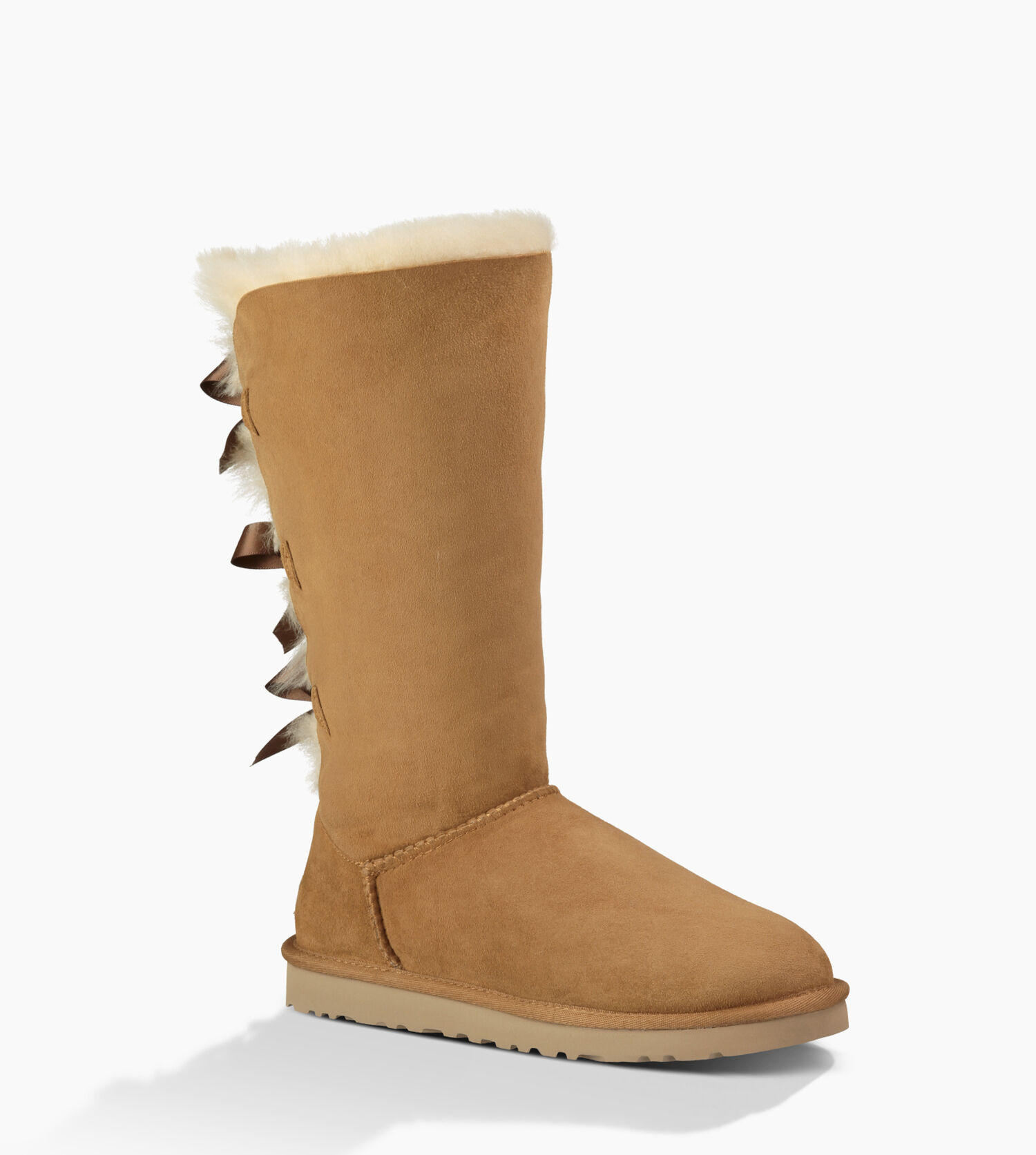 ugg bailey bow tall size 10