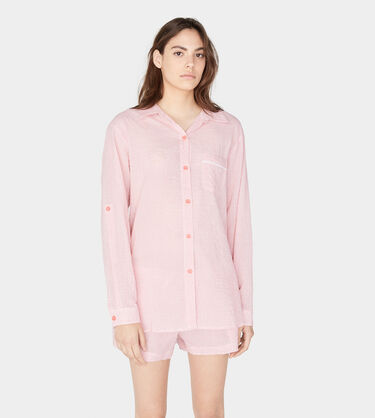Maisie Gingham PJ Top