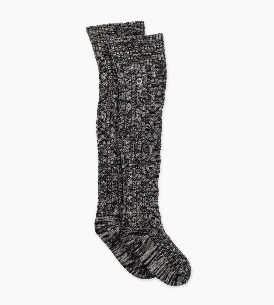 Cable Knit Sock - Image 1 of 2
