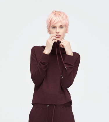 Cropped Funnel Neck