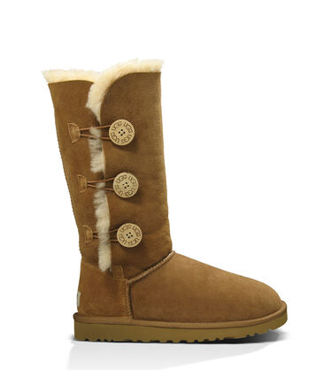 Women's Chestnut Bailey Button Triplet Boot Side View