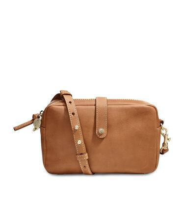 Olive Crossbody Leather