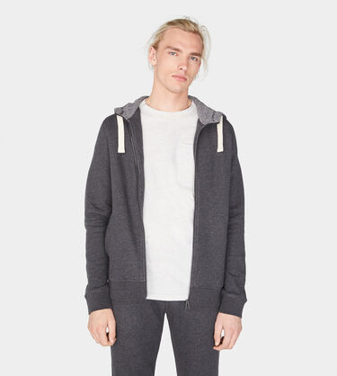 Terry Knit Full-Zip Hoodie