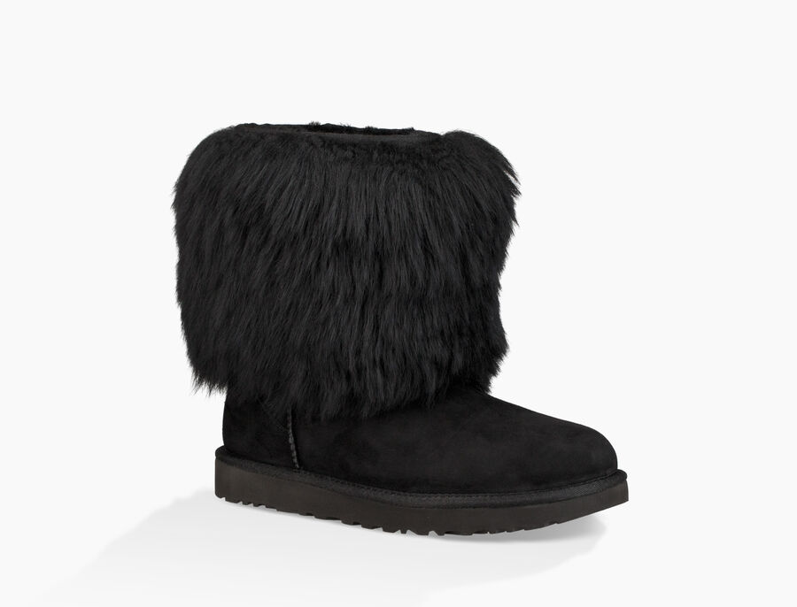 Short Sheepskin Cuff Boot - Image 2 of 6