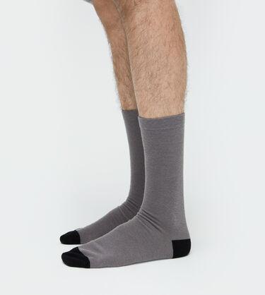 Color-Blocked Crew Sock