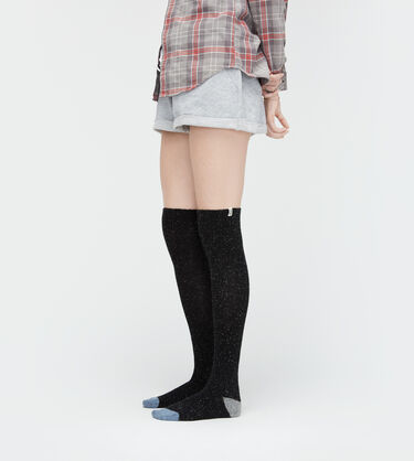 Color-Blocked Tall Sock