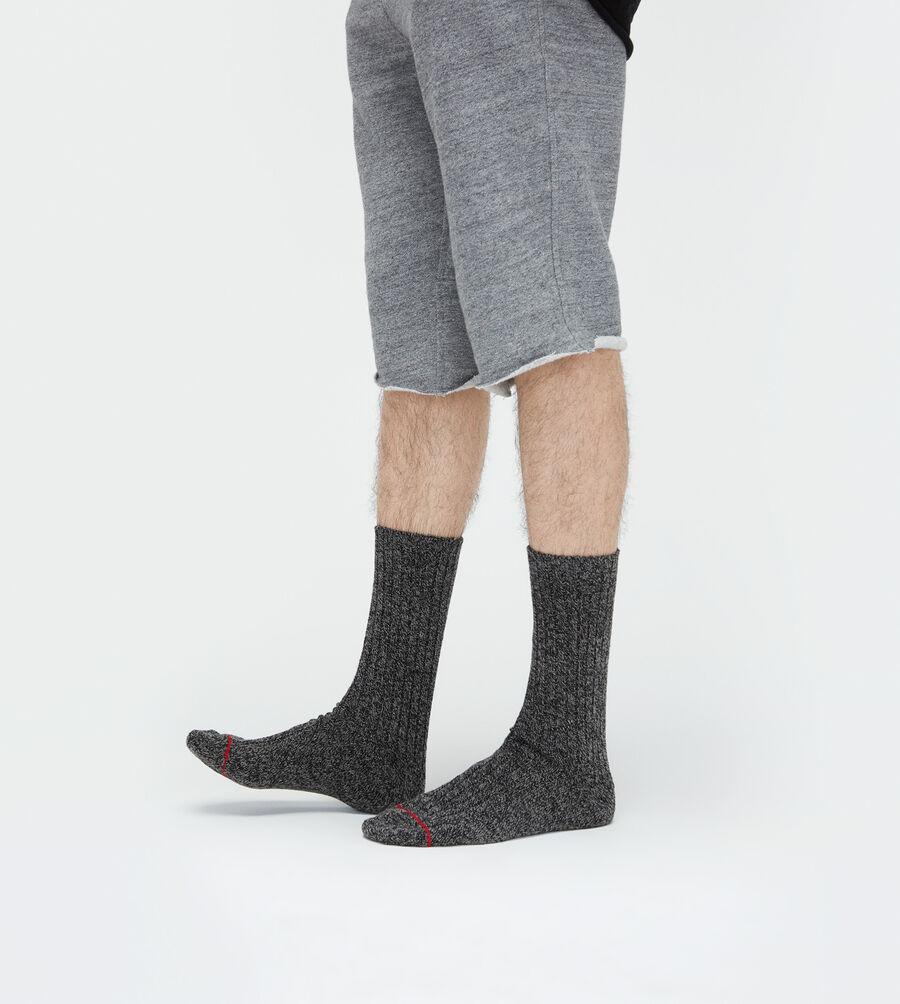 Classic Heather Rib Crew Sock - Image 2 of 4