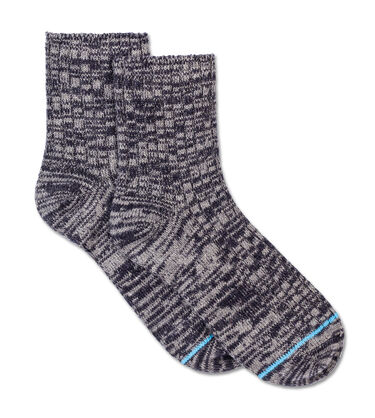 Classic Heather Rib Crew Sock