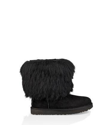 Short Sheepskin Cuff Boot