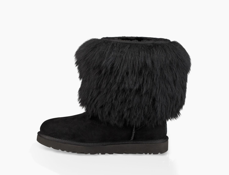 ugg sheepskin cuff boot size 7
