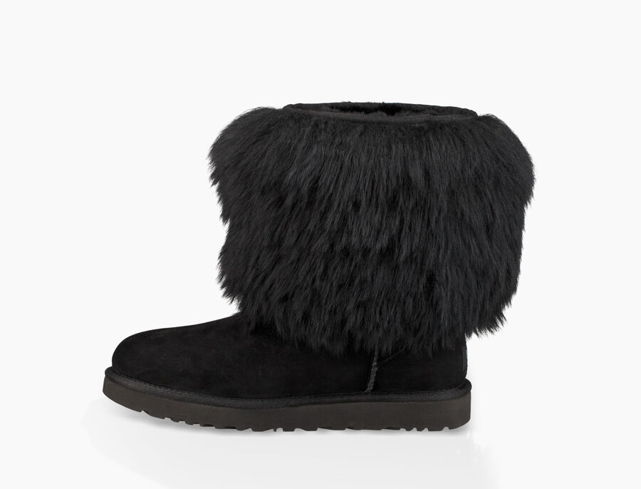 Short Sheepskin Cuff Boot - Image 3 of 6
