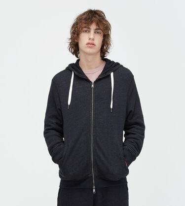 Terry Knit Full-Zip Hoodie