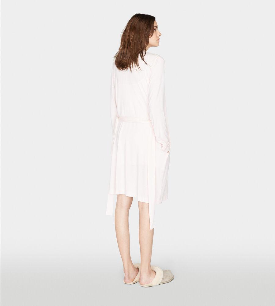 Birgette Mini Stripe Robe - Image 2 of 5