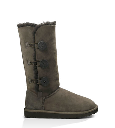 Women's Chocolate Bailey Button Triplet Boot Side View
