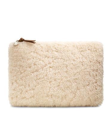 Large Zip Pouch Sheepskin