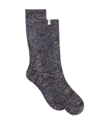 Patchwork Crew Sock