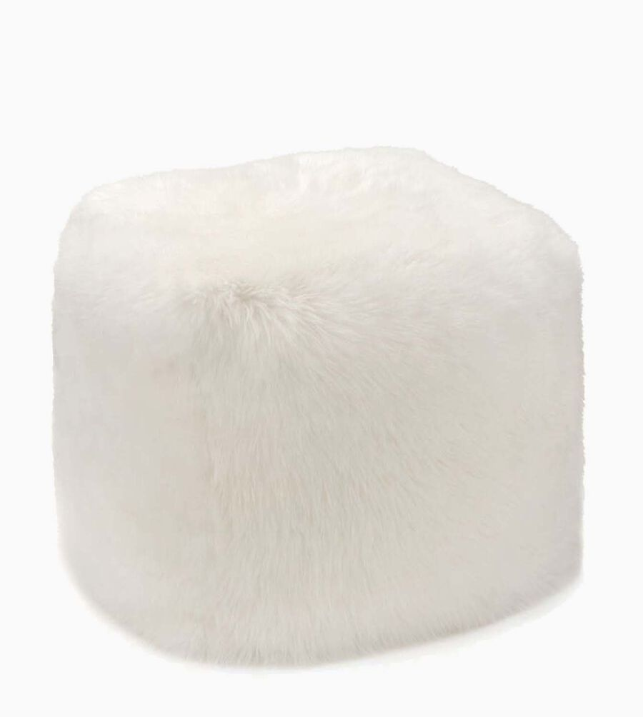 Sheepskin Pouf - Image 1 of 2