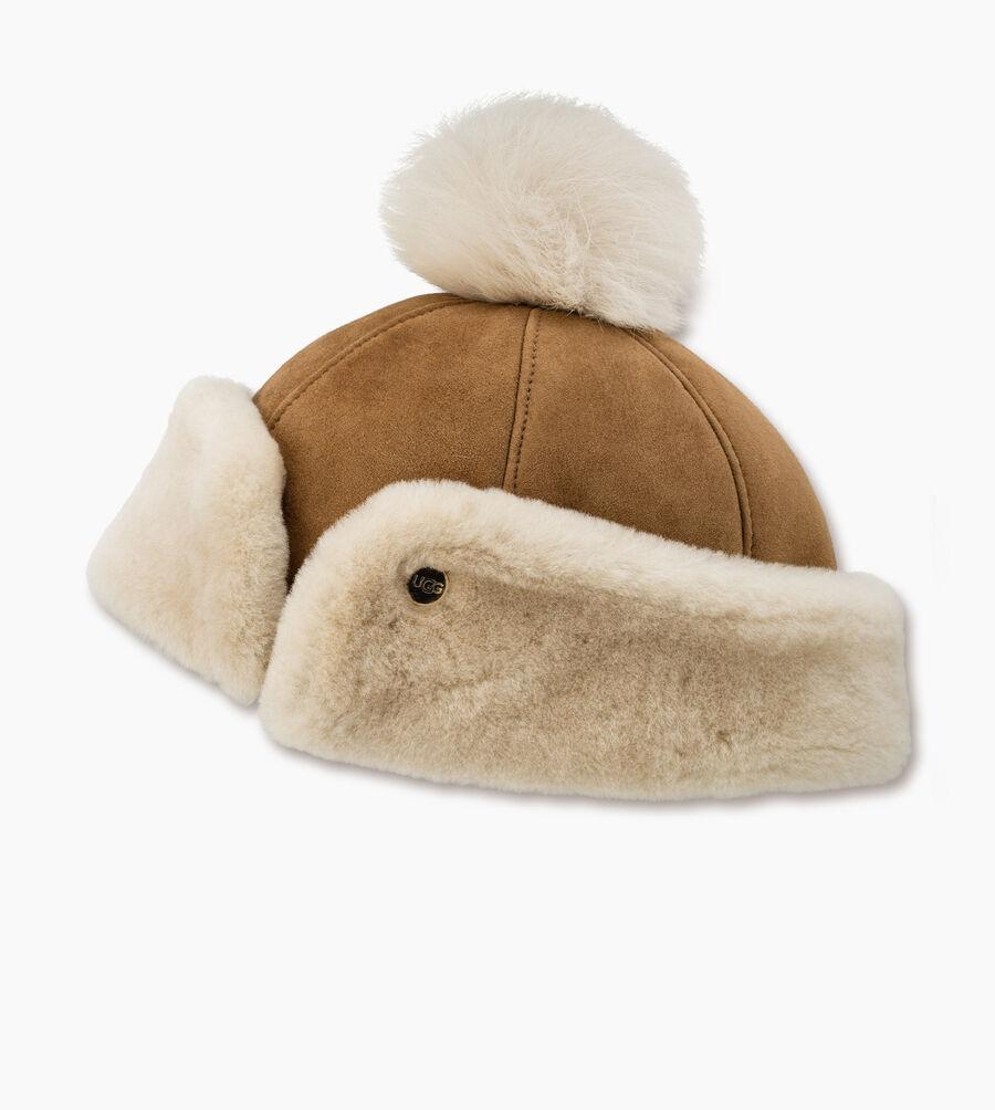 Sheepskin Pom Hat - Image 2 of 2