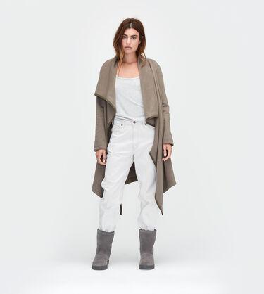 Fleece Blanket Cardigan