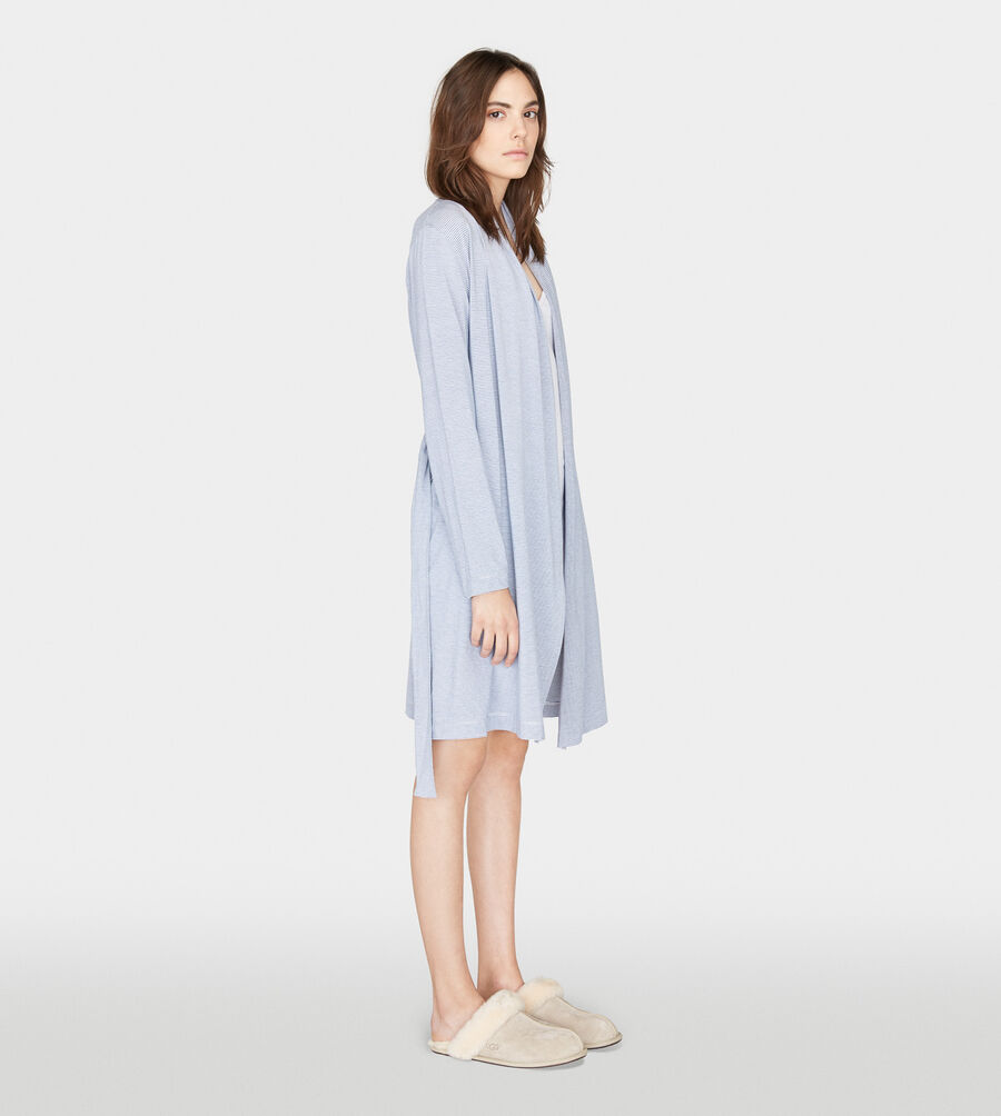 Birgette Mini Stripe Robe - Image 3 of 5