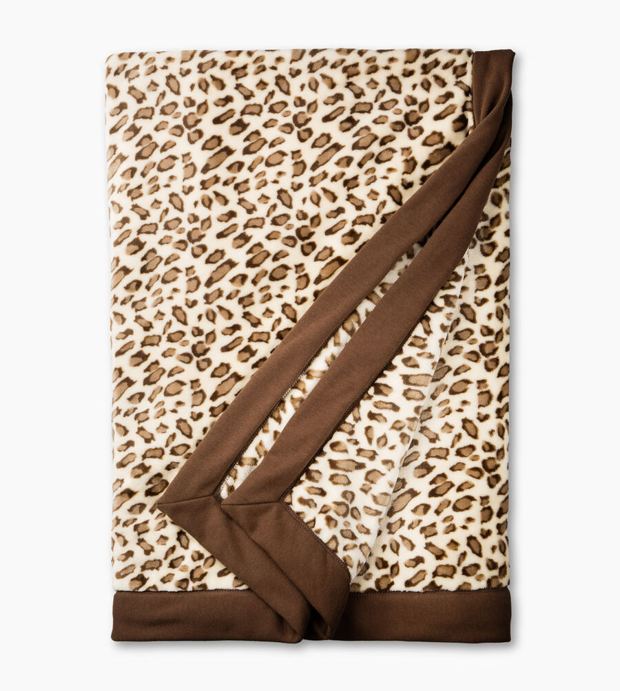 Duffield Leopard Throw - Image 1 of 3