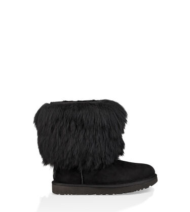 Short Sheepskin Cuff Boot