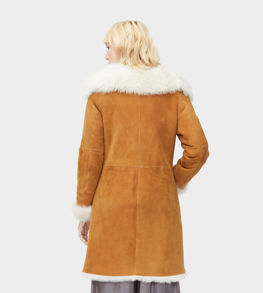 Toscana Shearling Coat - Image 2 of 4